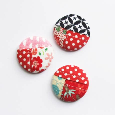 As A Button Patchwork - patchwork buttons are a delightful touch quilting digest