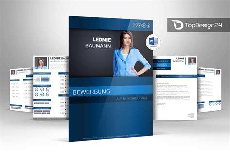 Design Vorlage Bewerbung Word Bewerbung Design Word Topdesign24 Bewerbungsvorlagen