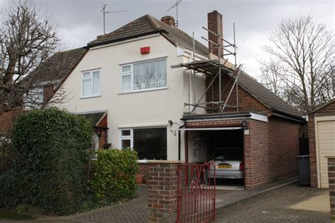 Garage Extension by 32 Brooksby Road With Garage Extension 169 Roger Templeman