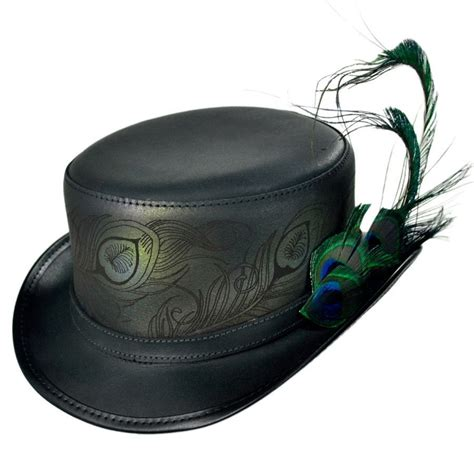 top hat n home strut leather top hat top hats