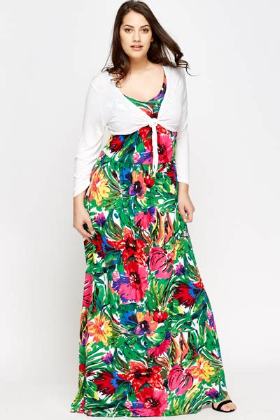 Maxi Dress Cardigan multi floral maxi dress and cardigan set just 163 5