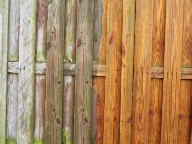 clean  fence    cleaner solution
