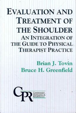 Sport Therapy For The Shoulder Evaluation Rehabilitation And Return evaluation and rehabilitation of the shoulder an integration of the guide to physical therapist