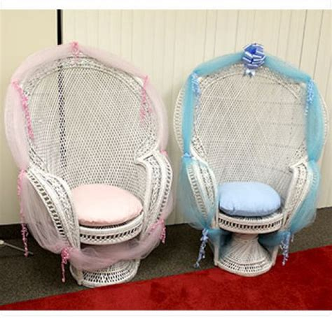 Baby Shower Chair Rental by Triangle Rentals