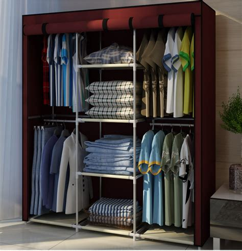 Portable Wardrobes by Wardrobe Closet Portable Wardrobe Closet Cabinet