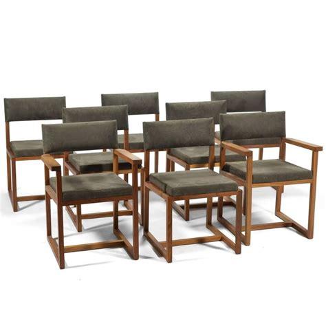 Black Walnut Dining Chairs De La Espada Black Walnut Dining Chairs For Sale At 1stdibs