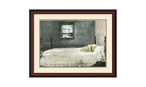 Wyeth Master Bedroom by Andrew Wyeth Master Bedroom Framed Print 33x26 In