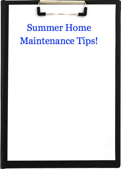 home maintenance tips for the summer byrd realty