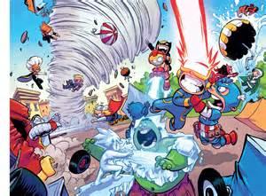 Little x men vs little avengers comicnewbies