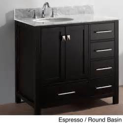 36 inch bathroom vanity with sink virtu usa caroline avenue 36 inch single sink bathroom
