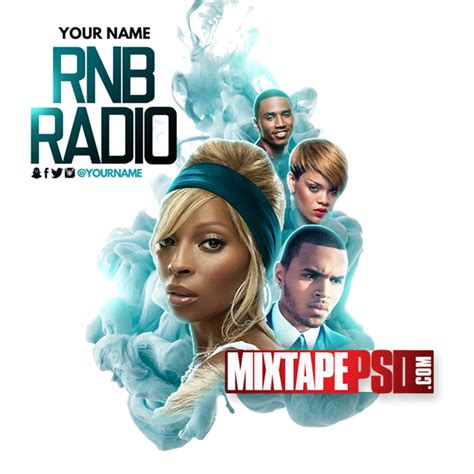 template rnb flyer mixtape template rnb radio 34 mixtapepsd com