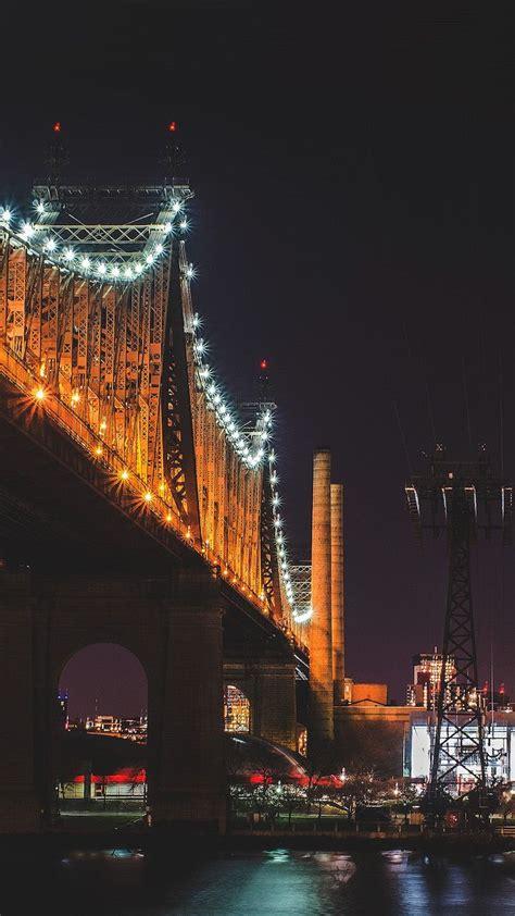 york city queensboro bridge aesthetic lockscreen