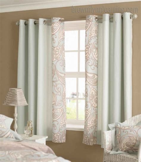 window drapery ideas bedroom curtain ideas for short windows
