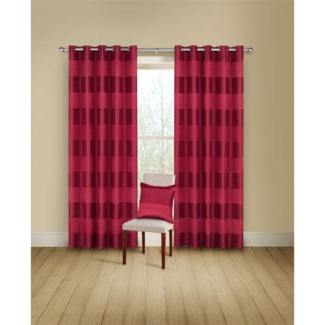 montgomery curtains montgomery arianna red readymade eyelet curtains