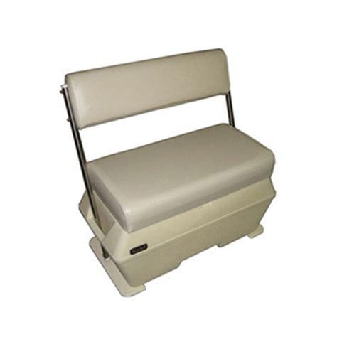 todd boat cooler seats todd large deluxe cooler livewell swingback seat west marine