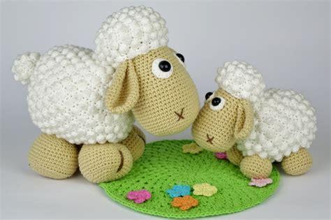 amigurumi lamb pattern free sheep wolli and lamb lucky amigurumi pattern