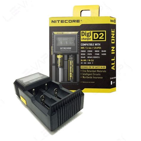 Nitecore Digicharger Universal Battery Charger For Li I Diskon nitecore digicharger d2 battery charger
