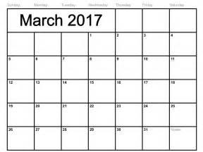 blank calendar template 2017 calendar 2017 printable