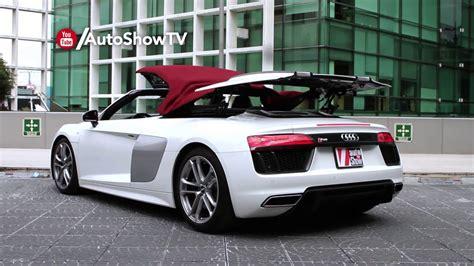 Audi R8 Youtube by Audi R8 Spyder 2018 Youtube