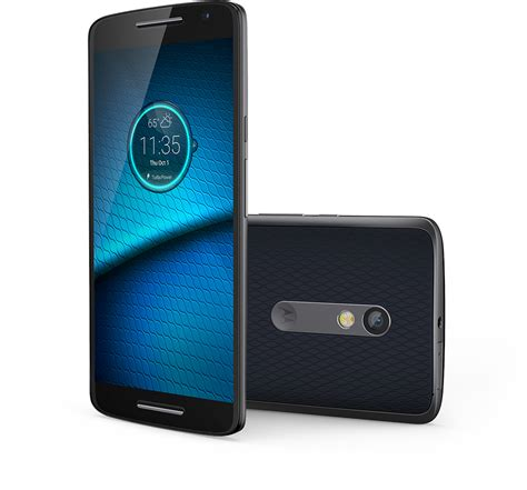 android motorola motorola droid maxx 2 4g lte 21mp android phone in blue for verizon wireless excellent