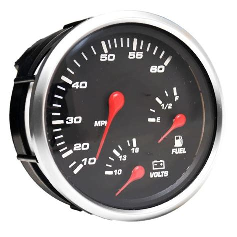 boat gauges uk faria gsc013b professional red oversized marine boat multi