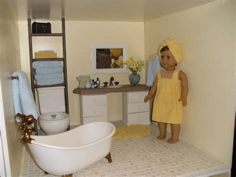 american girl doll bathroom doll house bathroom view 1 ags pinterest