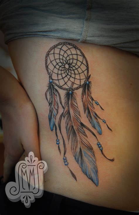 dreamcatcher tattoo designs meanings 35 awesome dreamcatcher tattoos and meanings