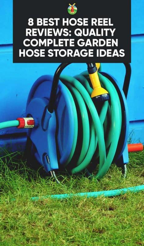 Garden Hose Storage Ideas 8 Best Hose Reel Reviews Quality Complete Garden Hose Storage Ideas Homesteading Alliance