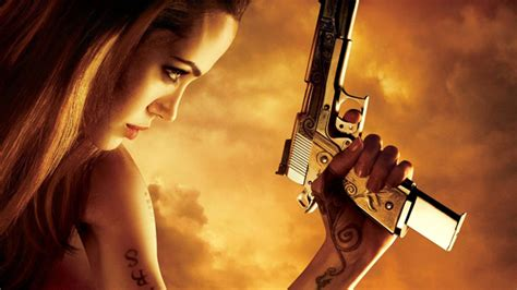 angelina jolie tattoo in wanted movie angelina jolie wanted by universal for wanted 2