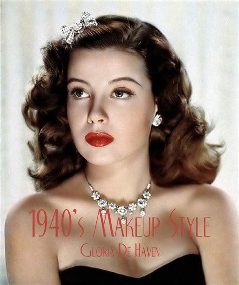 Eyeshadow Glamor 1940 s makeup guide vintage makeup guide