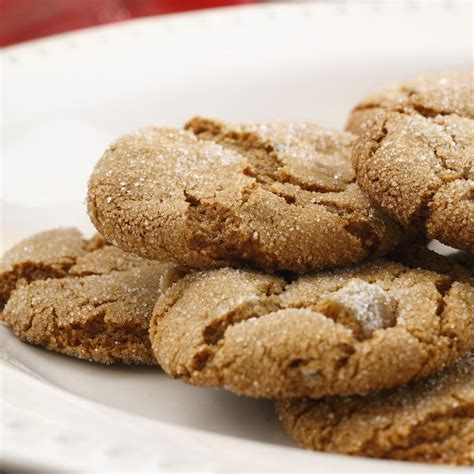 healthy cookies molasses crackles recipe eatingwell