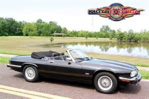 1992 jaguar xjs v 12 convertible rare triple black