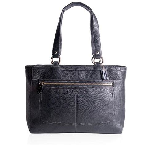 Tas Tote Wanita Diior Luxury Blackhdware Bags Large coach penelope leather shopper tote