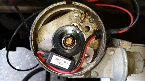 ignition conversion  points  electronic ignition ford truck enthusiasts