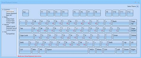 xml keyboard layout keyboard layout xml mindfusion virtual keyboard for wpf