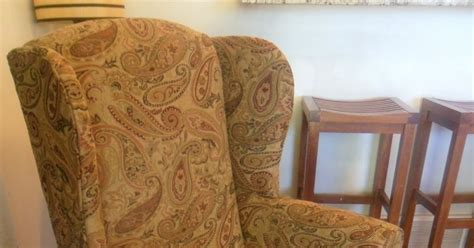 custom wing chair slipcovers custom slipcovers by shelley floral wingback chair with