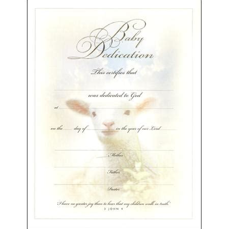 baby dedication certificates templates 18 baby dedication certificate template free