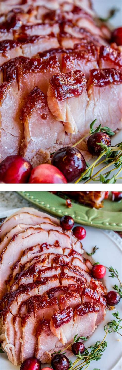Oven Roasted Cranberry Dijon Glazed Ham From The Food Charlatan Ain T Nothin Better Than An