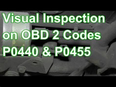 po455 hyundai how to diagnose codes p0440 or p0455 using visual