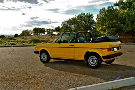 1982 Volkswagen Rabbit Convertible by Purchase Used 1982 Volkswagen Rabbit Convertible Great