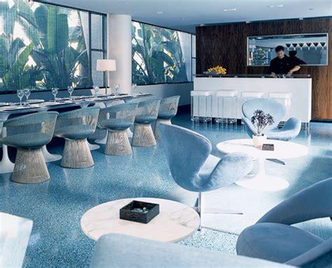 blue interior modern interior design