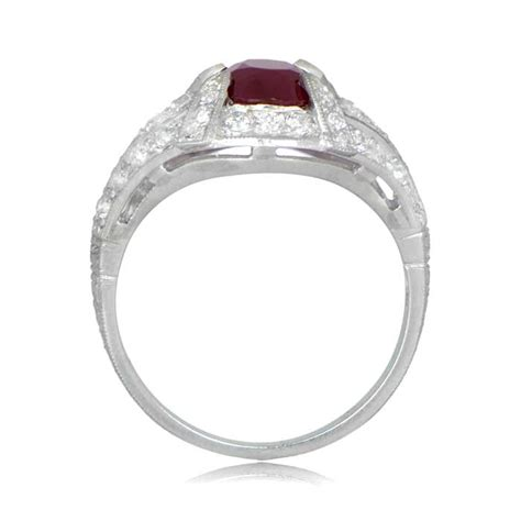 estate ruby engagement ring estate jewelry
