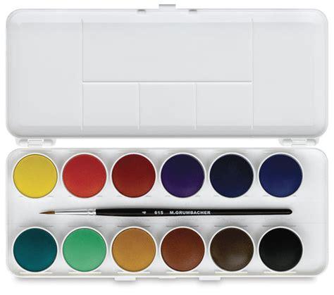 water color set 00303 1019 grumbacher watercolor pan sets blick