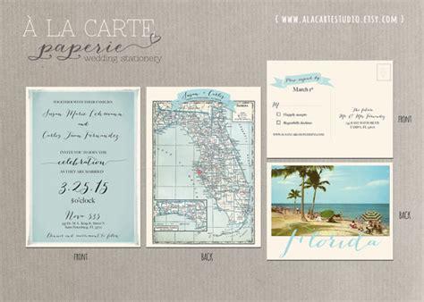 florida wedding invitations florida wedding invitation and rsvp card design fee