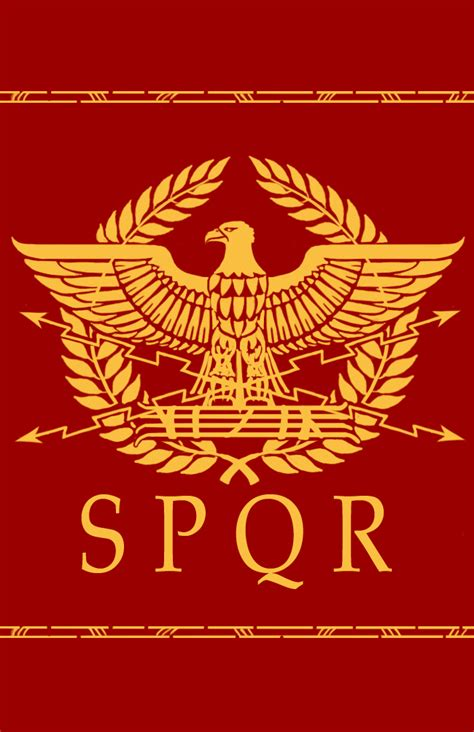 spqr a history of roman eagle design by erebus art on