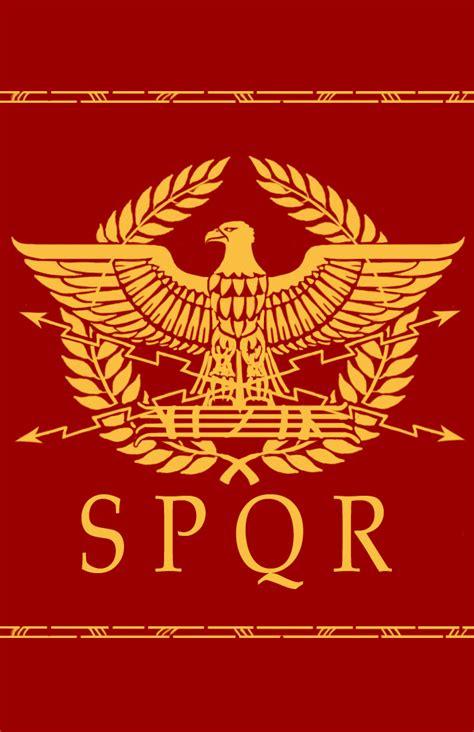 ancient roman empire flag roman eagle design by erebus art on deviantart