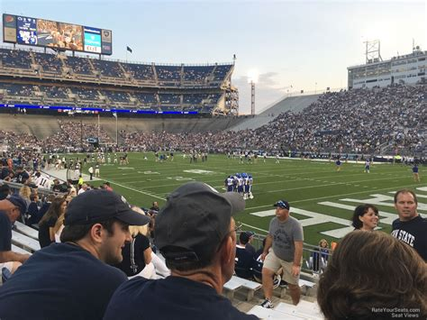 see section beaver stadium section nl rateyourseats com