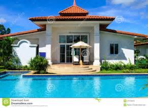 House For House dreams house with pool stock photos image 27078013