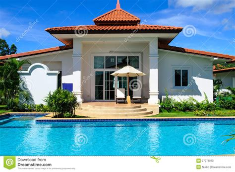 Glamorous Homes Interiors dreams house with pool stock photos image 27078013