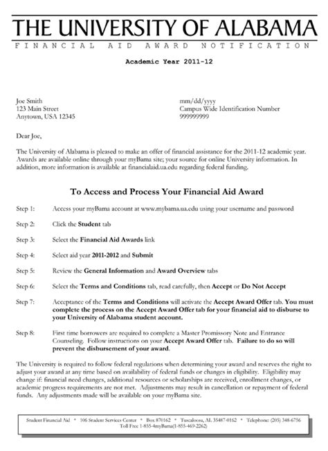 sample academic appeal letter  financial aid appeal letter
